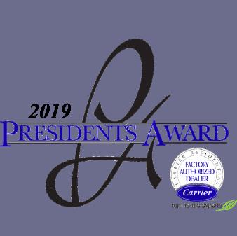 Carrier President's Award Logo 2019