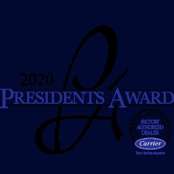 Carrier President's Award Logo 2020