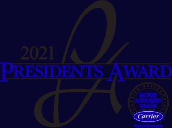 Carrier President's Award Logo 2021