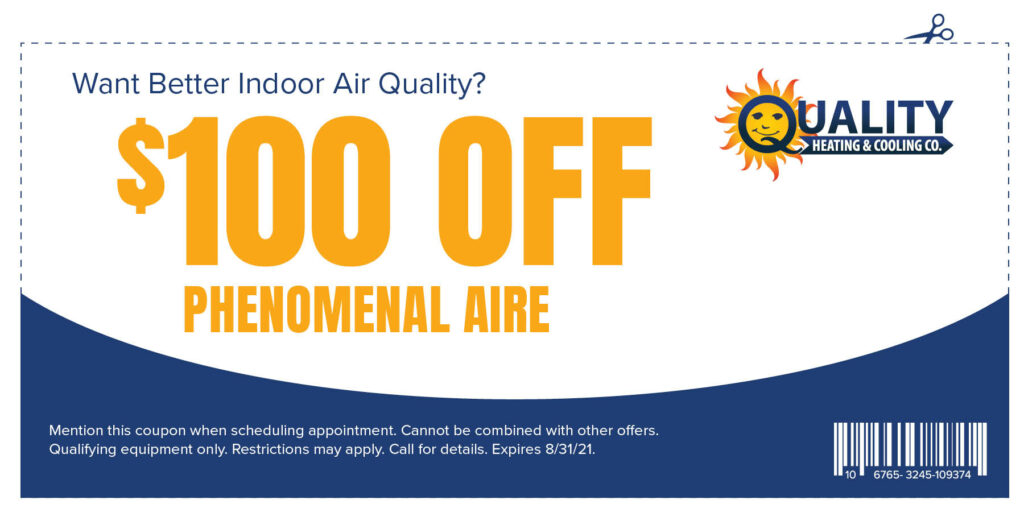 $100 OFF Phenomenal Aire Special