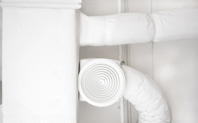 Air ducts in a Boise